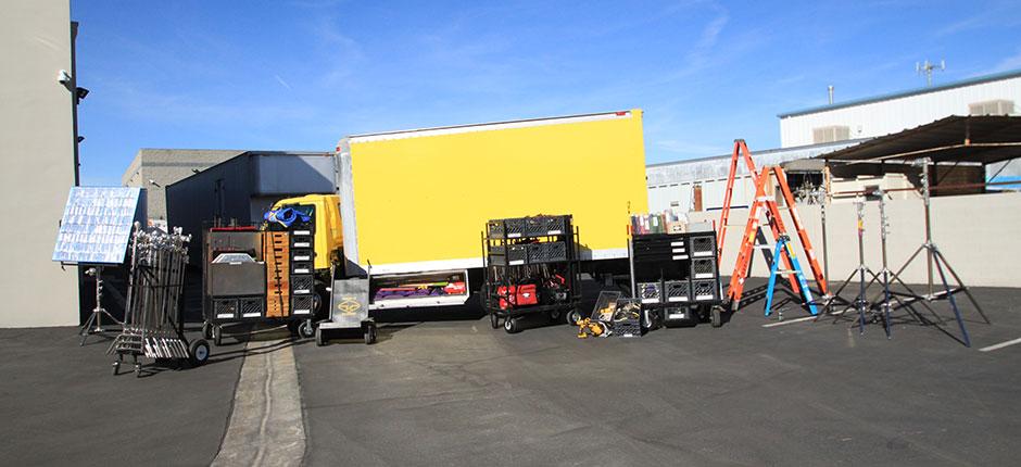 3 Ton Grip Truck Rental Package