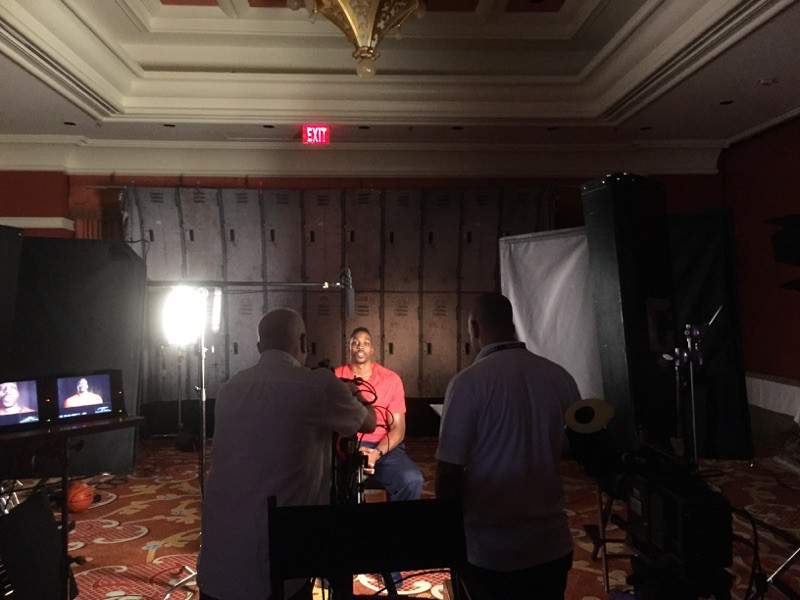 NBA Commercial Interview