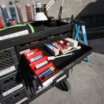 Production Set Cart With Electric Drawer