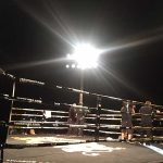Production Lighting Vegas Fight