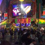 Light for Wrist Wrestling on Fremont Street Las Vegas