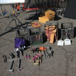 C- clamps and supplies rental